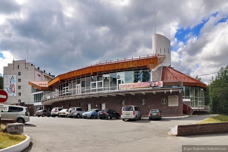 24. В Абзаково есть свой аквапарк. Стоимость посещения его входит в путевку (также как и питание).