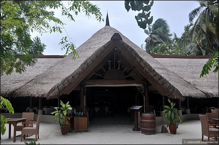 Ресторан на острове один.