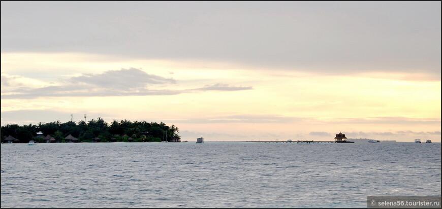 Закатная. Возвращаемся на свой остров.