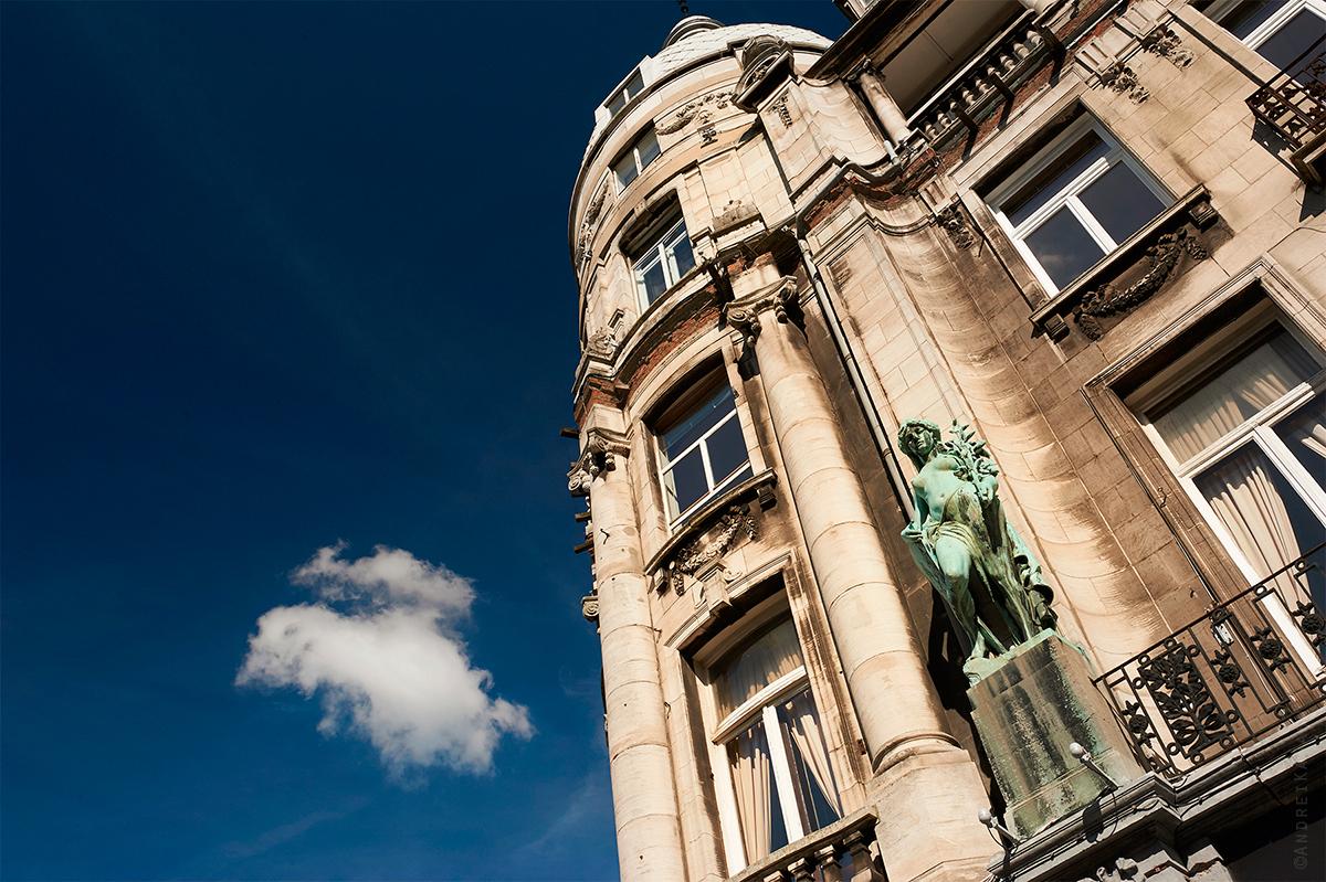 Антверпен, дом ганзейского союза, Бельгия фото