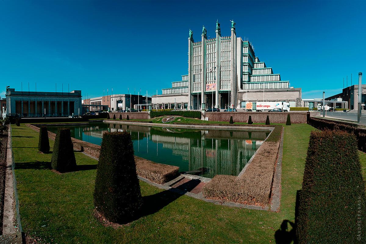 Брюссель Экспо павильон 1935 года, Бельгия фото