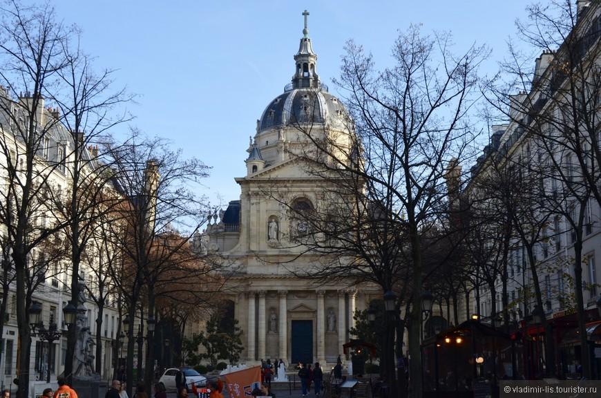 Прогулка по бульвару Сен-Мишель. Часовня Святой Урсулы при Сорбонне