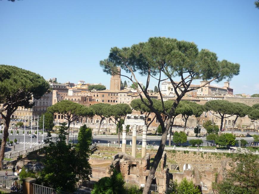 Римский форум (лат. Forum Romanum) — форум (площадь) в центре Древнего Рима вместе с прилегающими зданиями. Первоначально на нём размещался рынок, позже он включил в себя комиций (место народных собраний), курию (место заседаний Сената) и приобрел также политические функции. Эта площадь служила центром общественной жизни, и из повседневного общения людей эволюционировало в тематическое общение, носящее все признаки того, что мы сегодня называем форумом.