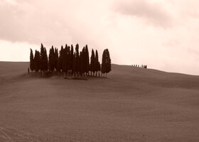 Тоскана Val d'Orcia