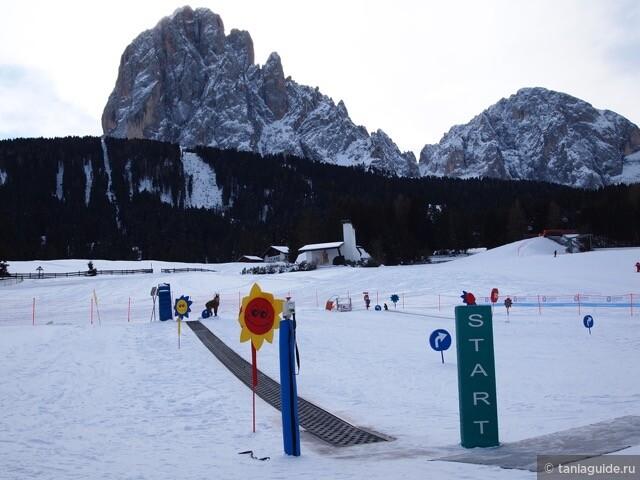 Детская лыжная площадка