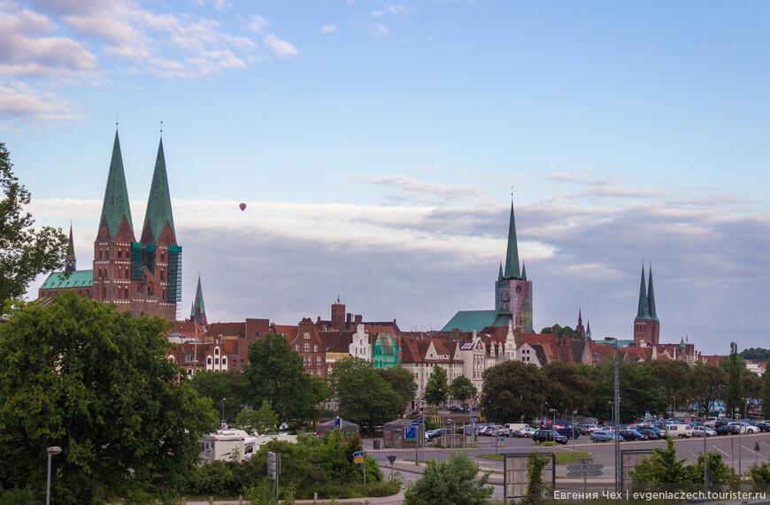Знаменитые шпили любекских церквей