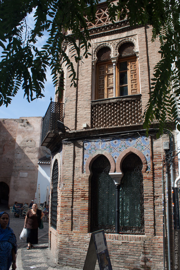 Старый дом на Plaza Larga.