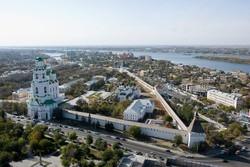 Астрахань привлекает туристов
