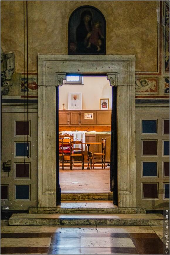 комната священников