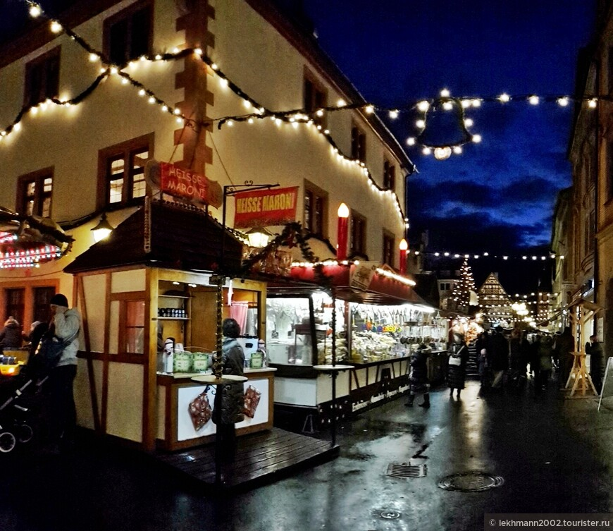 1-й Адвент. Рождественский базар.