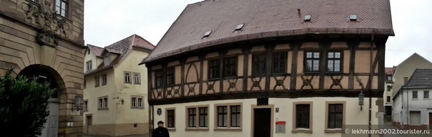 Старый дом датируется 16-м веком...