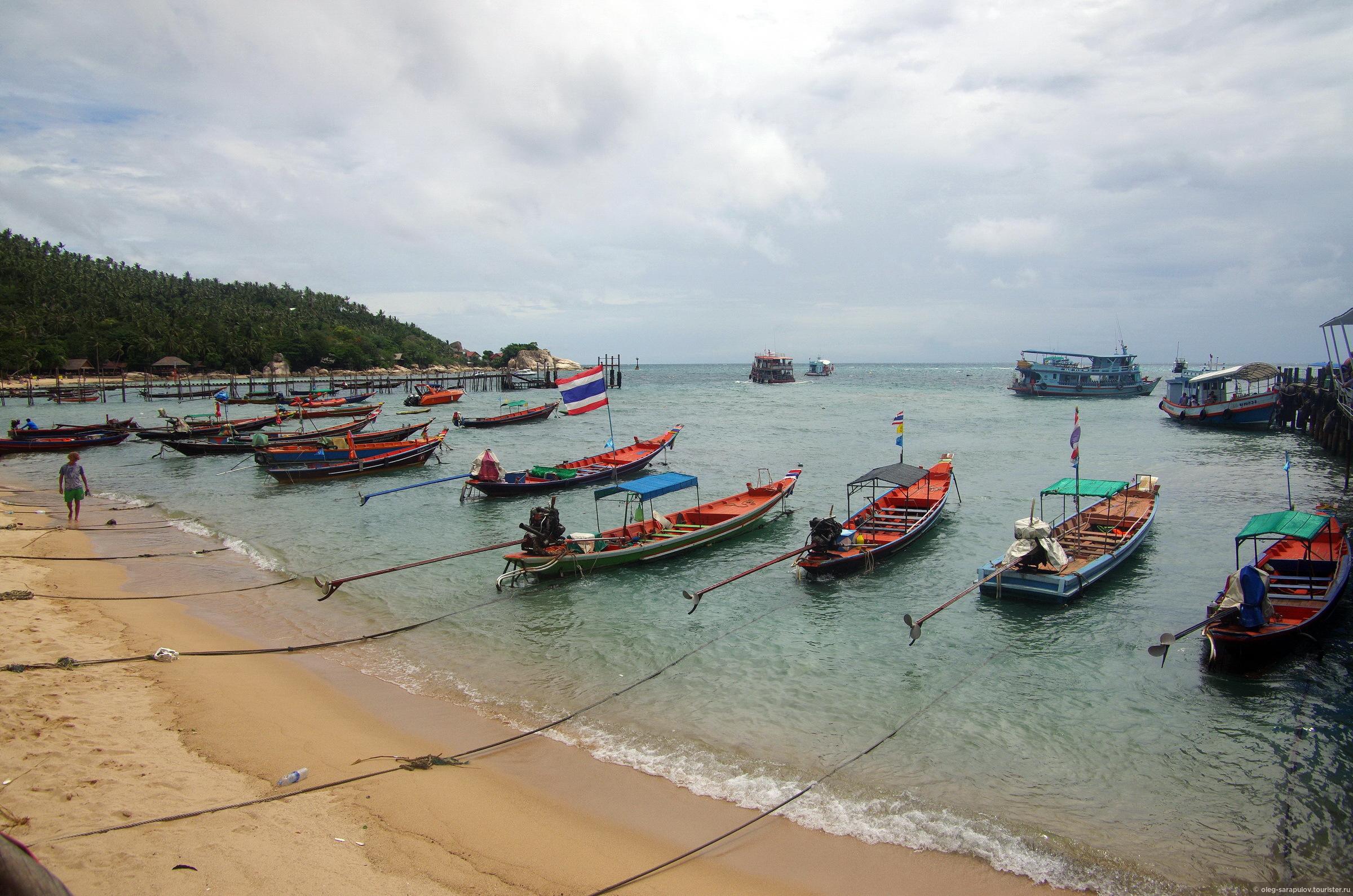 Порт Koh Tao, Koh Tao, Thailand
