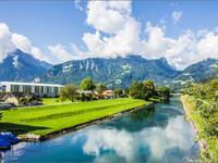 Везен на оз. Вален. Швейцария