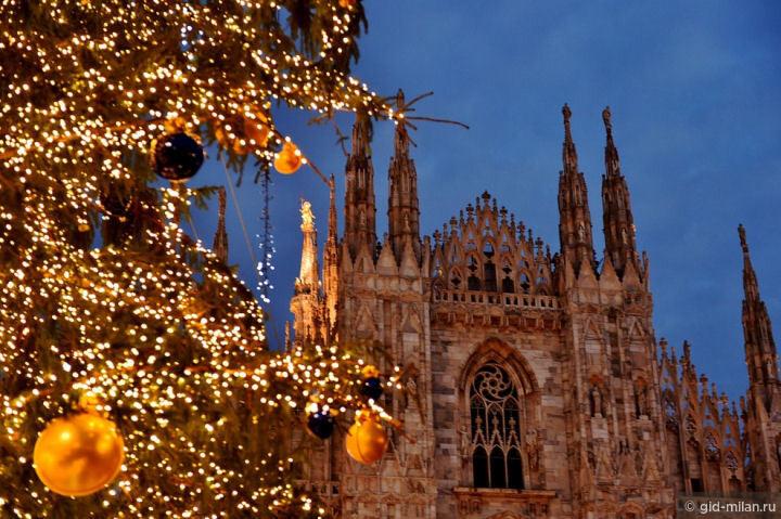 Где найти рождественские городки в Милане