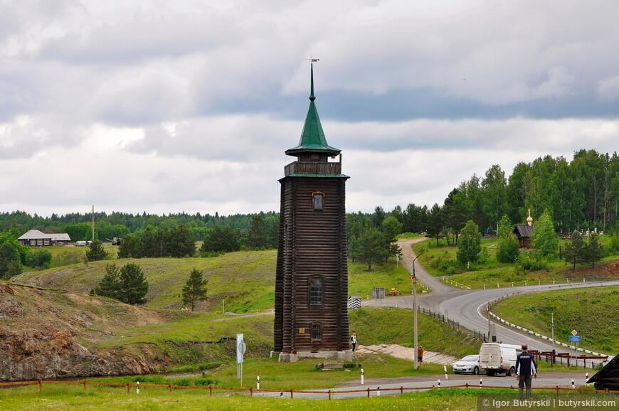 04. Сторожевая башня пожарного депо.
