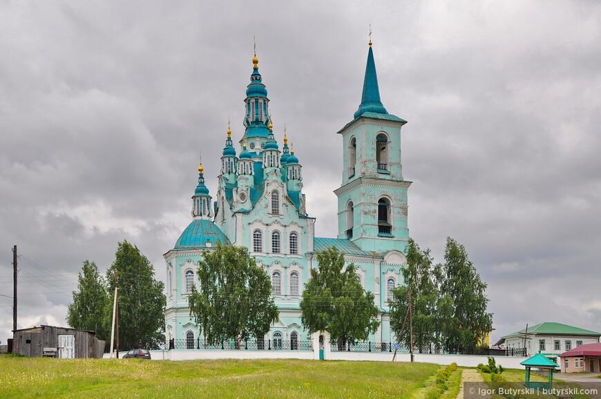 07. В 1794 году по указу С. Яковлева, началось строительство грандиозного Спасо-Преображенского храма, который освятили в 1823 году.