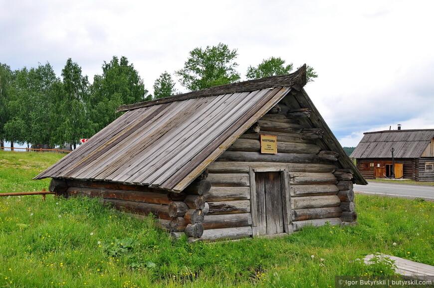 Напрогребница, 18 век (с. Мугай Алапаевского района).