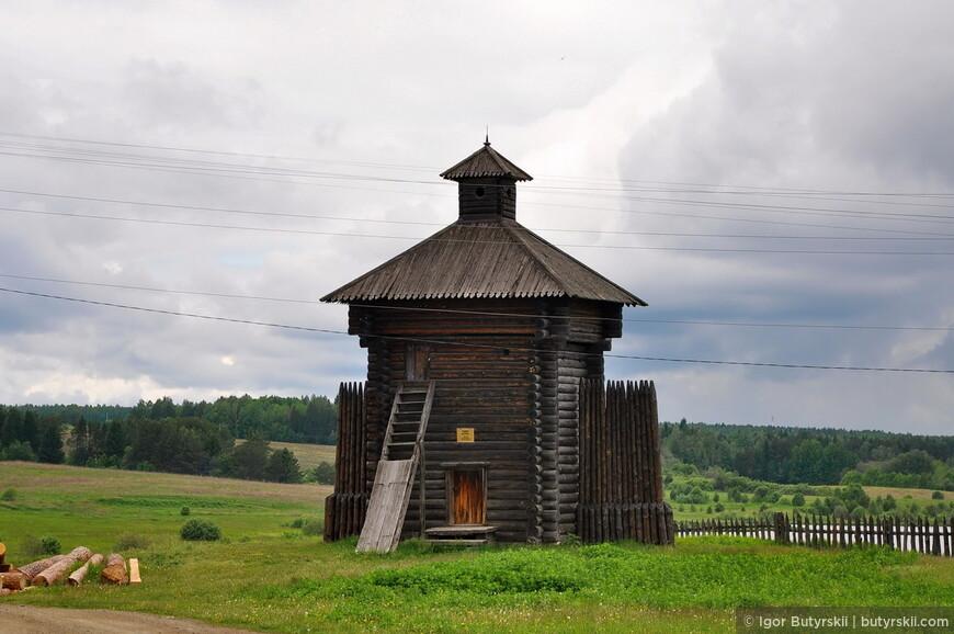 Башня острога (с. Арамашево Алапаевского района)