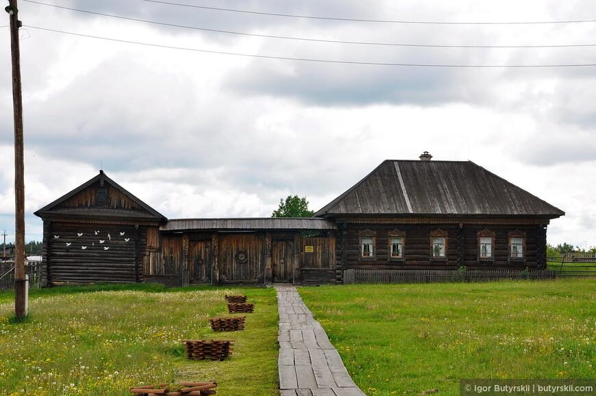 Усадьба крестьянина, 19 век (д. Камельская Алапаевского района)