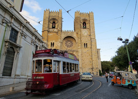 Трамваи и Лиссабон сентябрь 2015 г.