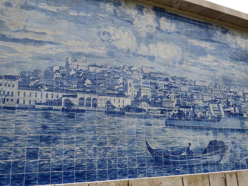 Азулежу Лиссабон до землетрясения 1 ноября 1755 года