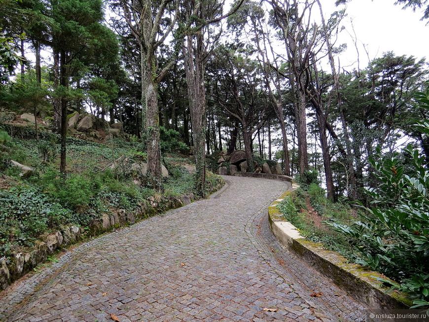 По Парку до смотровой Cruz Alta . Старый Крест