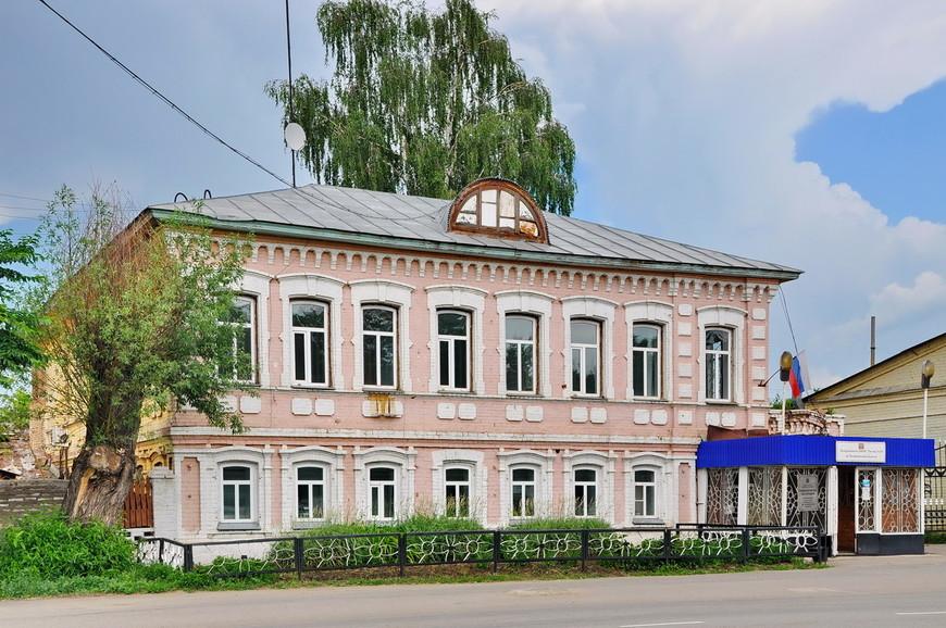 27. Здание налоговой службы.