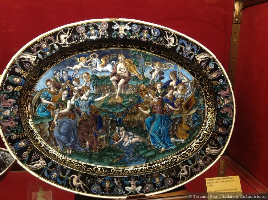 Аполлон с музами - 1580 г.