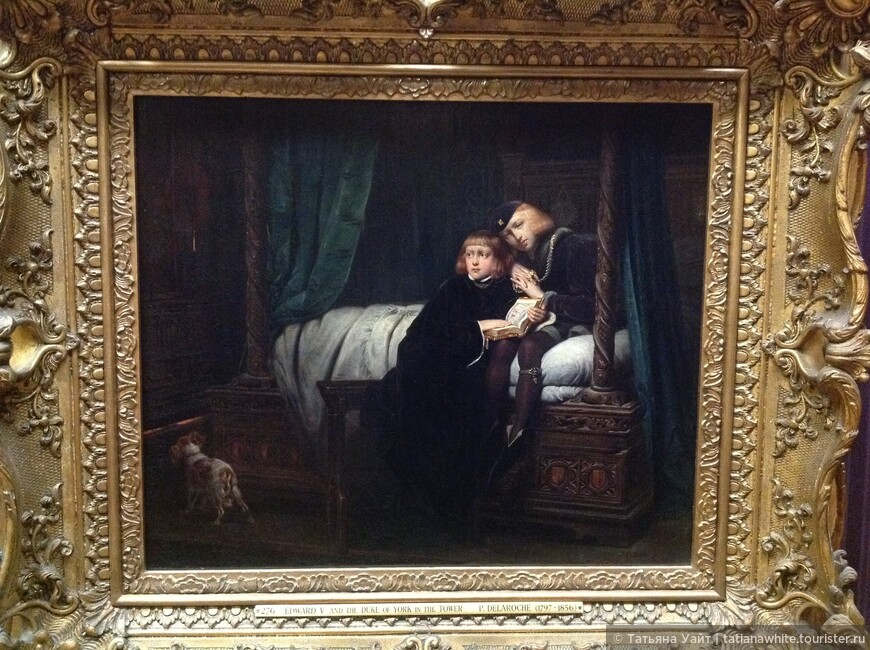 Трагическая судьба героев картины...до сих пор будоражит головы историков Англии