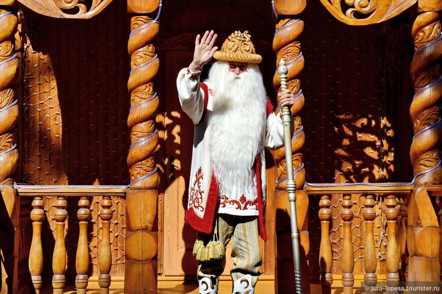 Не поверите,но это самый настоящий Дед Мороз!
