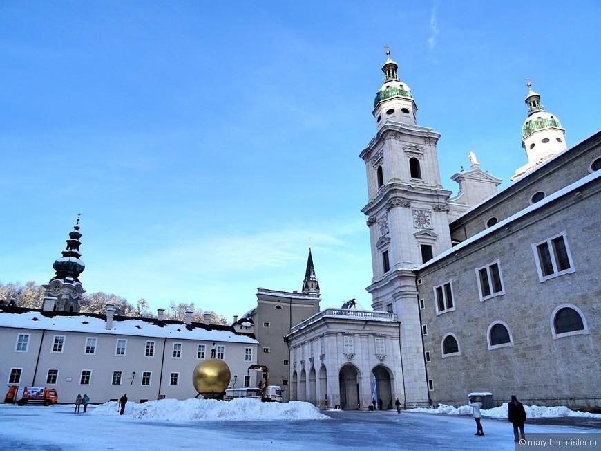 Собор Руперта и Виргилия - кафедальный собор Зальцбурга. В нем был крещен Вольфганг Амадей Моцарт.