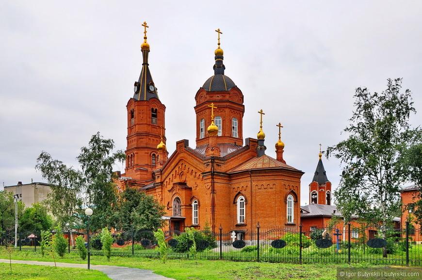 15. Собор был построен в 1902 году на месте кладбища.