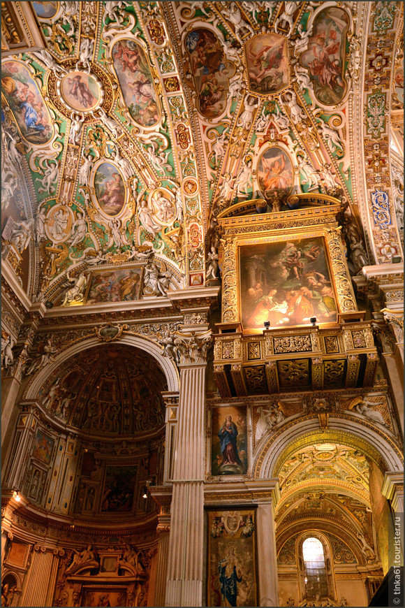 Неистовое барокко внутри Базилики