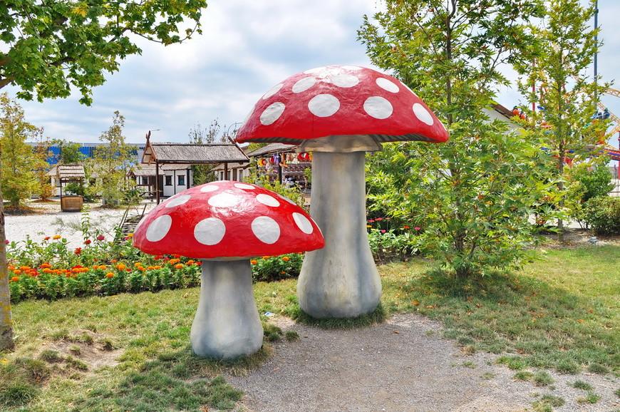 17. Куда же без гигантских грибов? Все-таки это сказочный мир!
