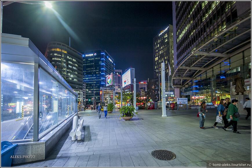 Конечно, мы увидели лишь малую часть всего, что предлагает Сеул туристам. Но думаю, что вам уже понятно, что город современный...