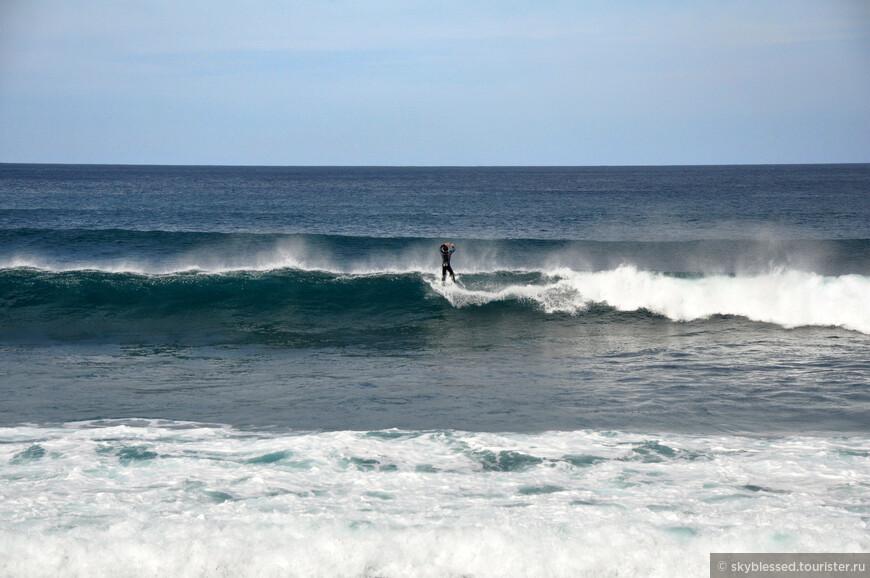 Человек и океан - две мощи, две стихии...