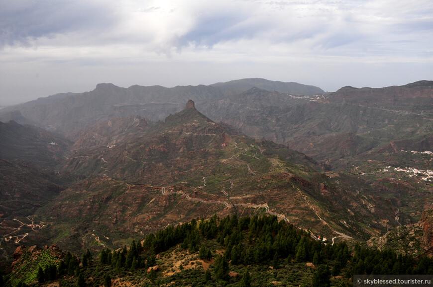 Вид с горы Roque Nublo