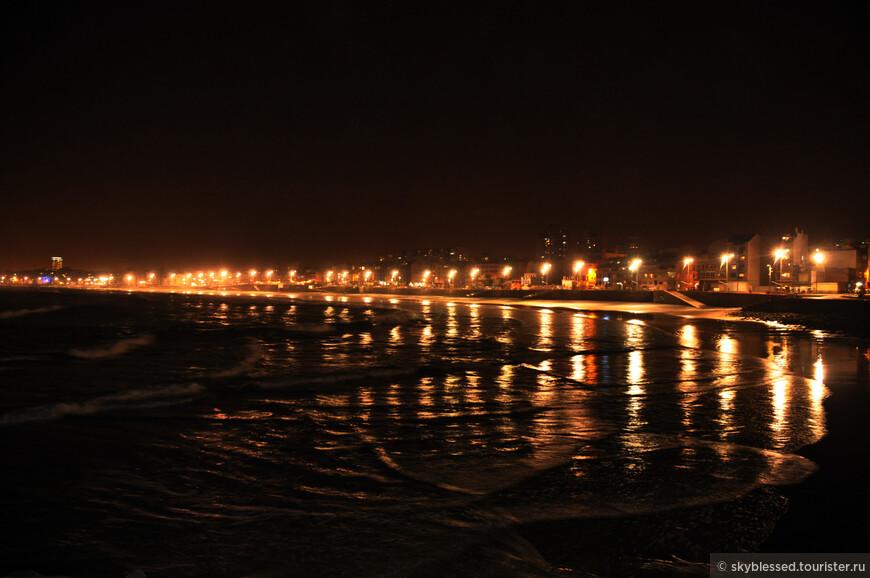 Огни вечерней набережной