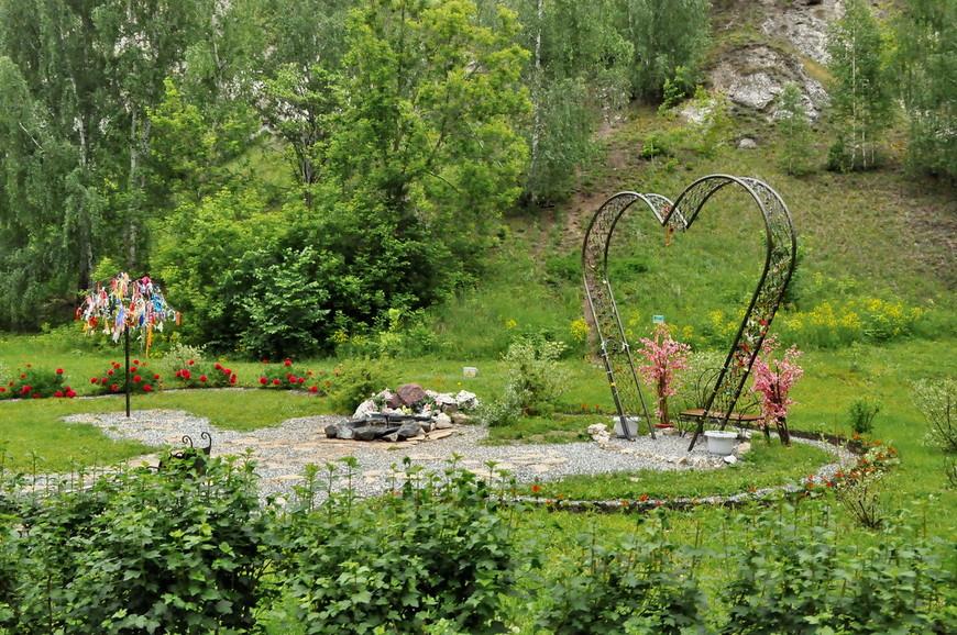 03. Здесь обустроены площадки для фото, на фоне природы Пермского края.
