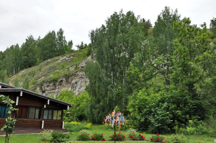 06. Напротив гора в которой находится та самая Кунгурская пещера.