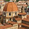 Флоренция, вид на купол Усыпальницы Медичи, экскурсии по Флоренции с частным индивидуальным гидом на русском языке