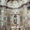 Внутренне убранство Усыпальниц - ниша со статуей Козимо 2 Медичи и разноцветные настенные украшения из камня, экскурсии по Флоренции с частным индивидуальным гидом на русском языке