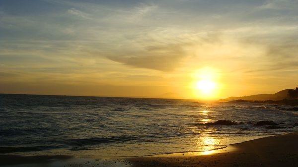 Закат в Муйне.