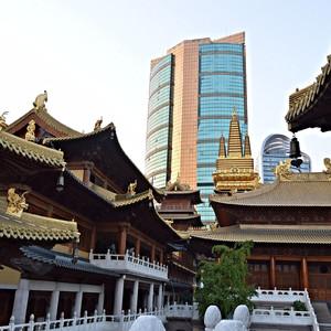 Шанхай. Храм Цзинань