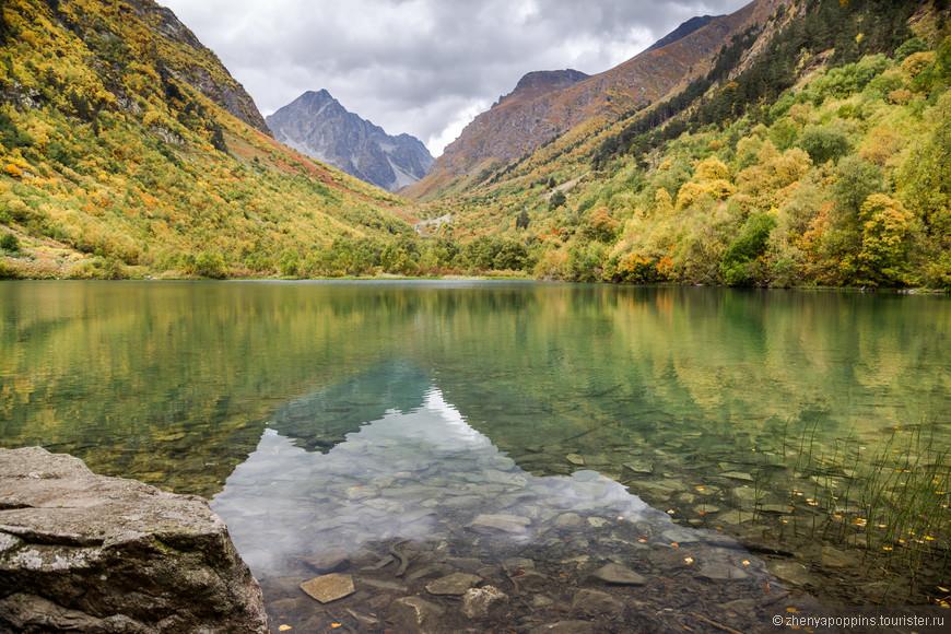 3е Бадукское озеро,  Теберда