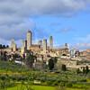 Вид на Сан Джиминьяно, экскурсии по Флоренции и Тоскане с частным индивидуальным гидом на русском языке