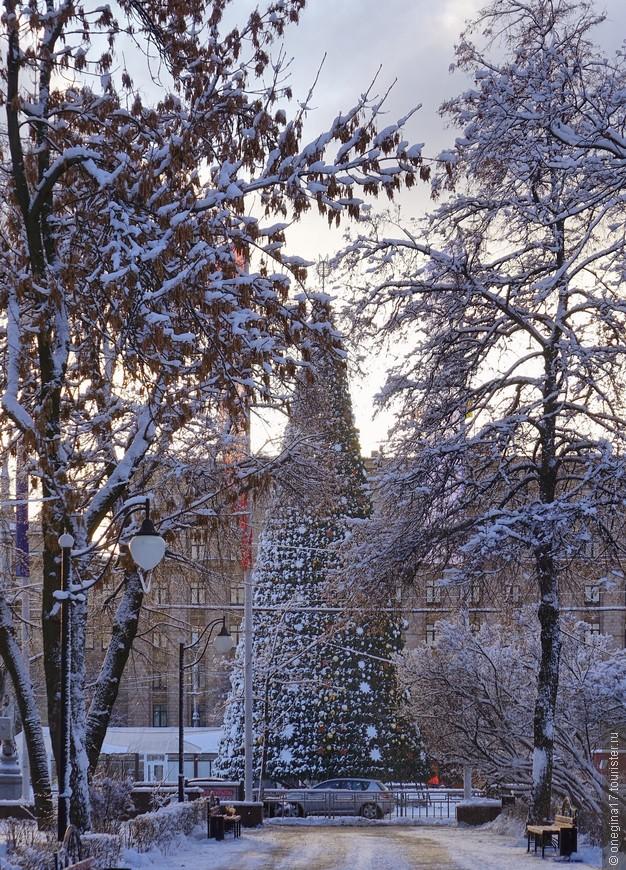 В те дни, когда городская елка потихоньку становилась принцессой, а снег не переставая сыпал с неба, никому не приходило в голову, что под самый Новый год все станет иначе...