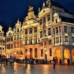 Брюссель в ожидании Рождества