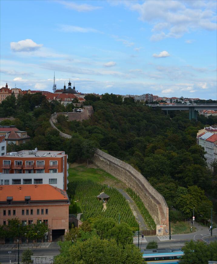 Но вернемся же в Вышеград. Остатки древней городской стены.