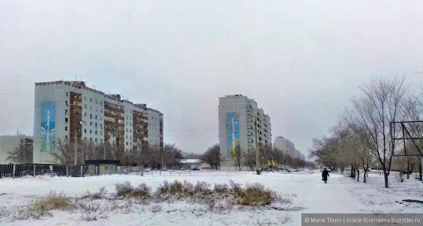 Жилые дома из советского прошлого. Байконур